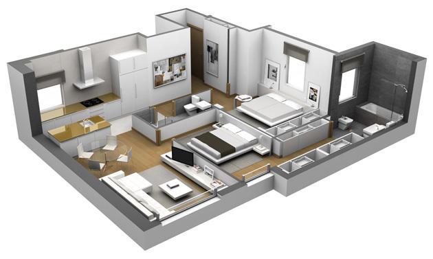 Metros cuadrados planos de casas gratis pictures to pin on - Como hacer un plano de una casa ...